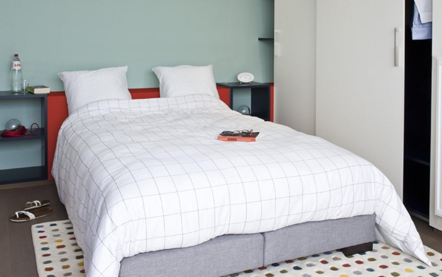 Schilder en plamuurwerken tom plancke slaapkamers for Verfkleuren slaapkamer